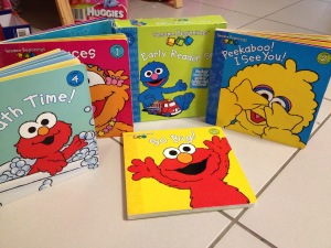 Sesame Street Beginning First Reader Set